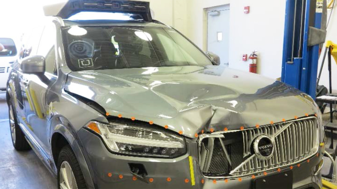 Incidente Uber a guida autonoma