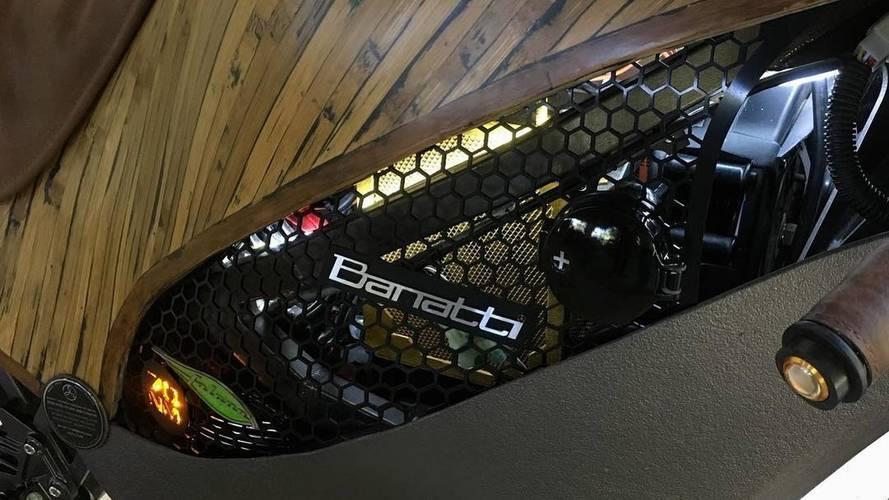 Bu elektrikli Bambu motosiklete bir göz atın