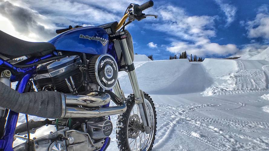 Harley to Debut Snow Hill Climb at Winter X Games