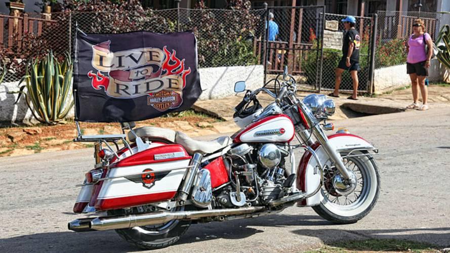 Viva Harlistas! Antique Harley-Davidsons Still Prowl Cuba