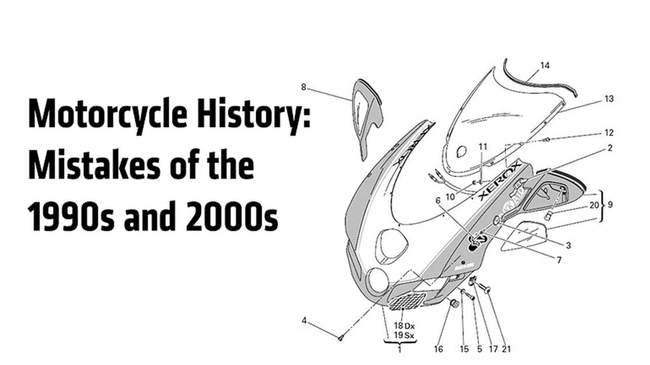 Motorcycle History: Mistakes Of The 1990s and 2000s