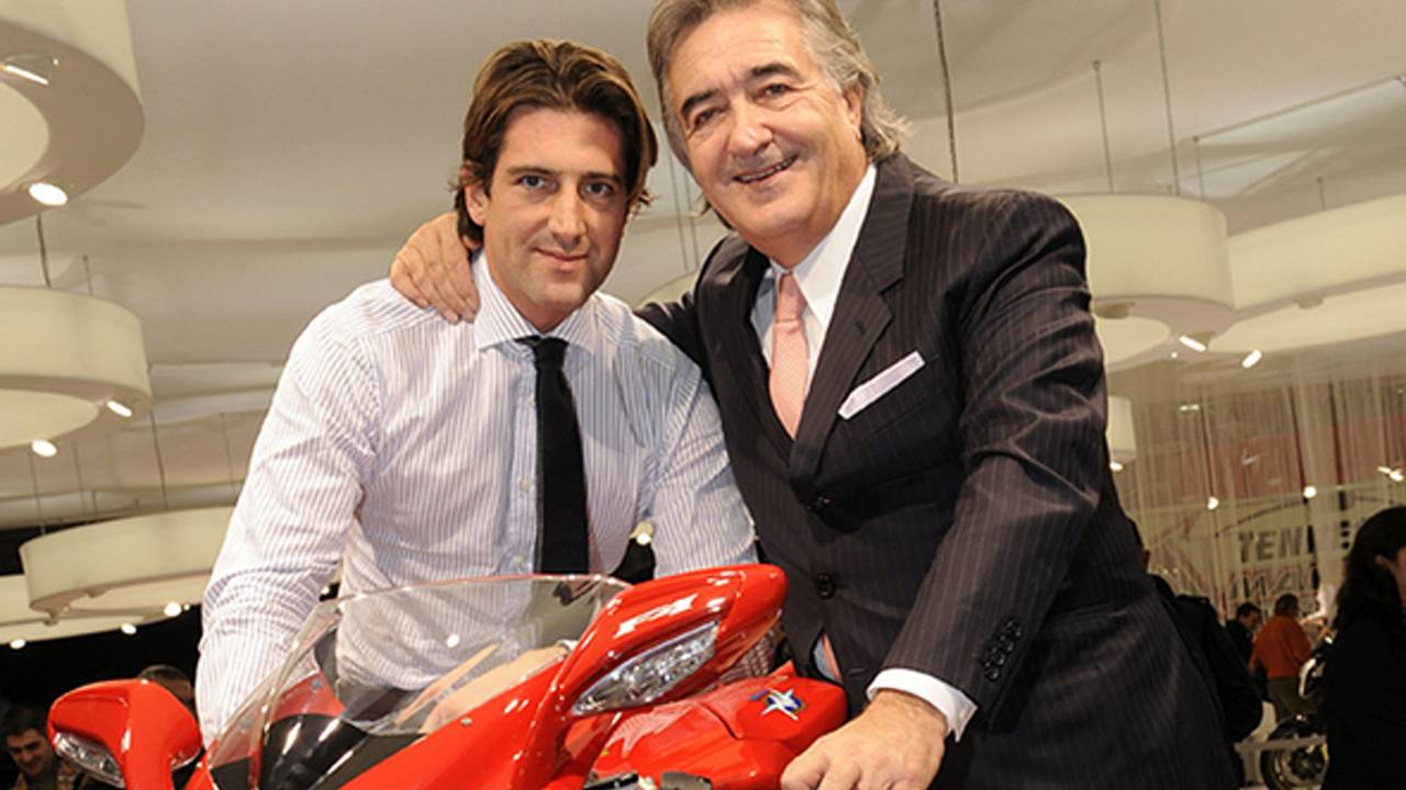Giovanni Castiglioni on the MV Agusta F3, Harley-Davidson and two secret new models