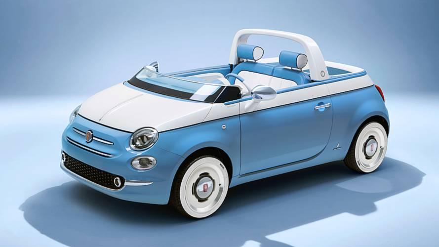 Fiat 500, c'è anche la vera Spiaggina di Garage Italia