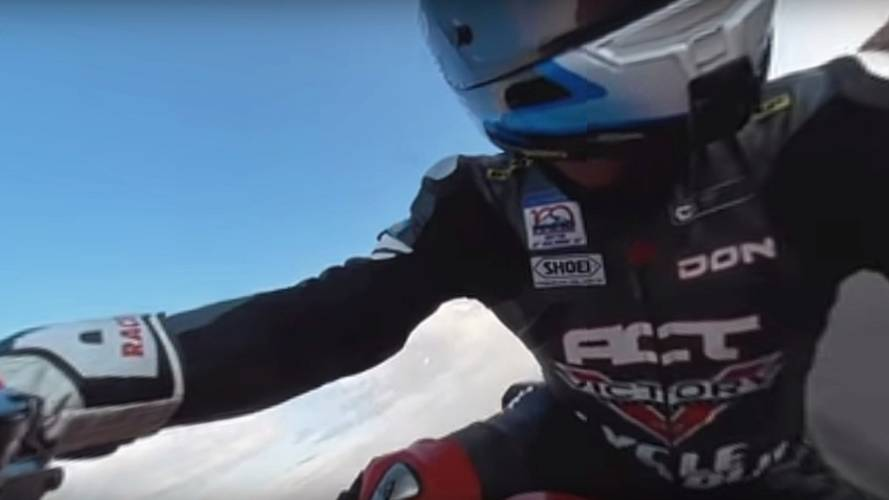 Victory Releases 360-Degree Video of Pikes Peak Attempts