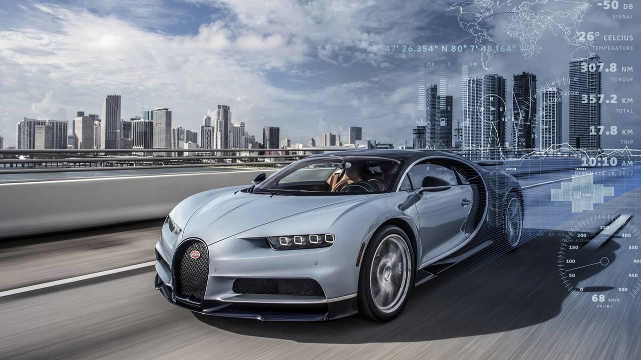 Bugatti telemetry