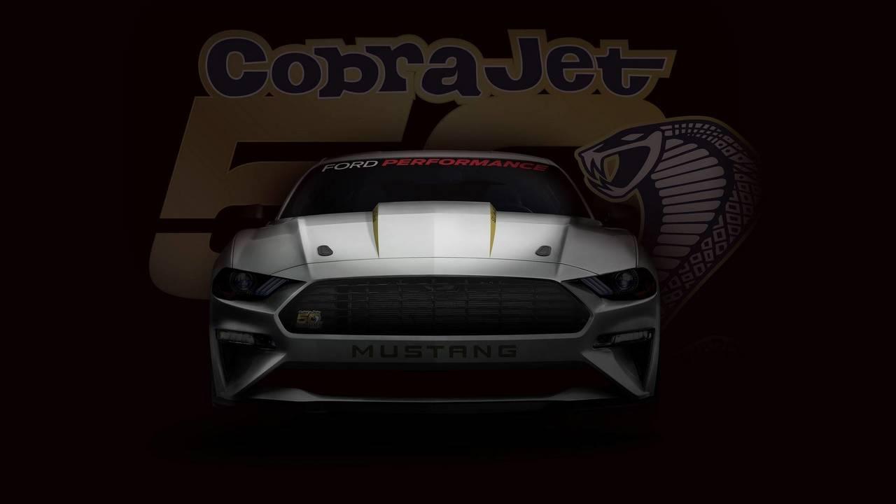 2018 Ford Mustang Cobra Jet teaser