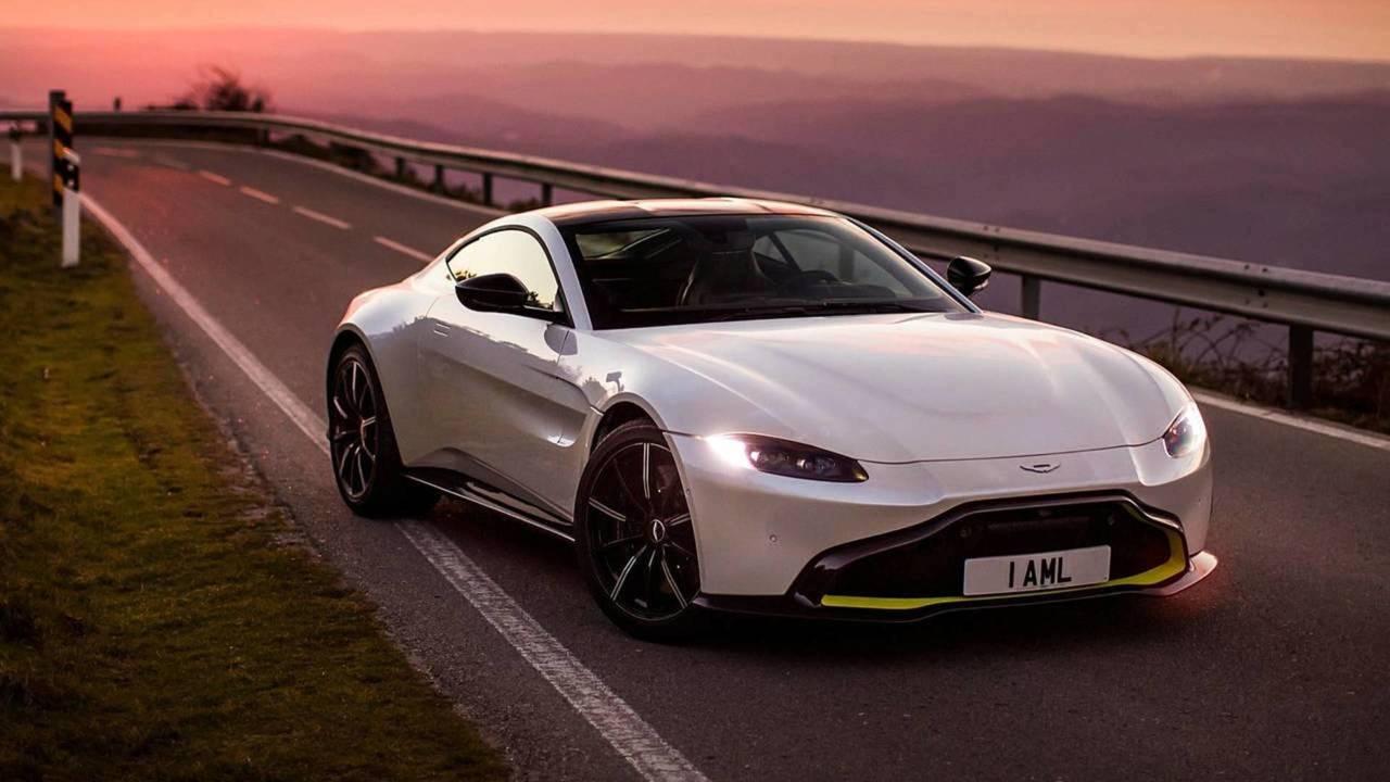 Aston Martin Vantage - Mercedes AMG motoru