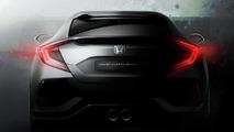 Honda Civic hatchback prototype teaser
