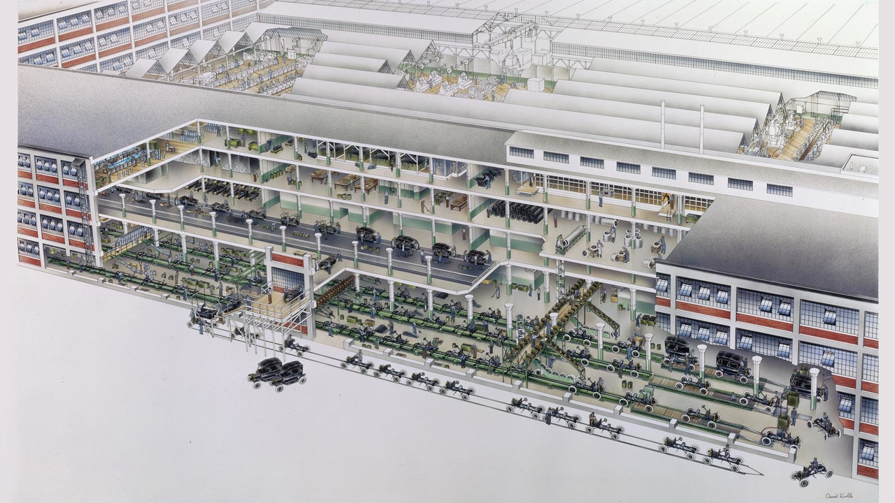 David Kimble Cutaway Ford Model T Factory