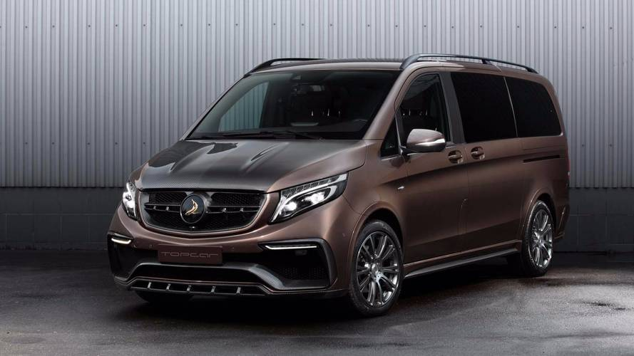 Mercedes-Benz V-Class Gets An Exterior-Only Facelift From TopCar