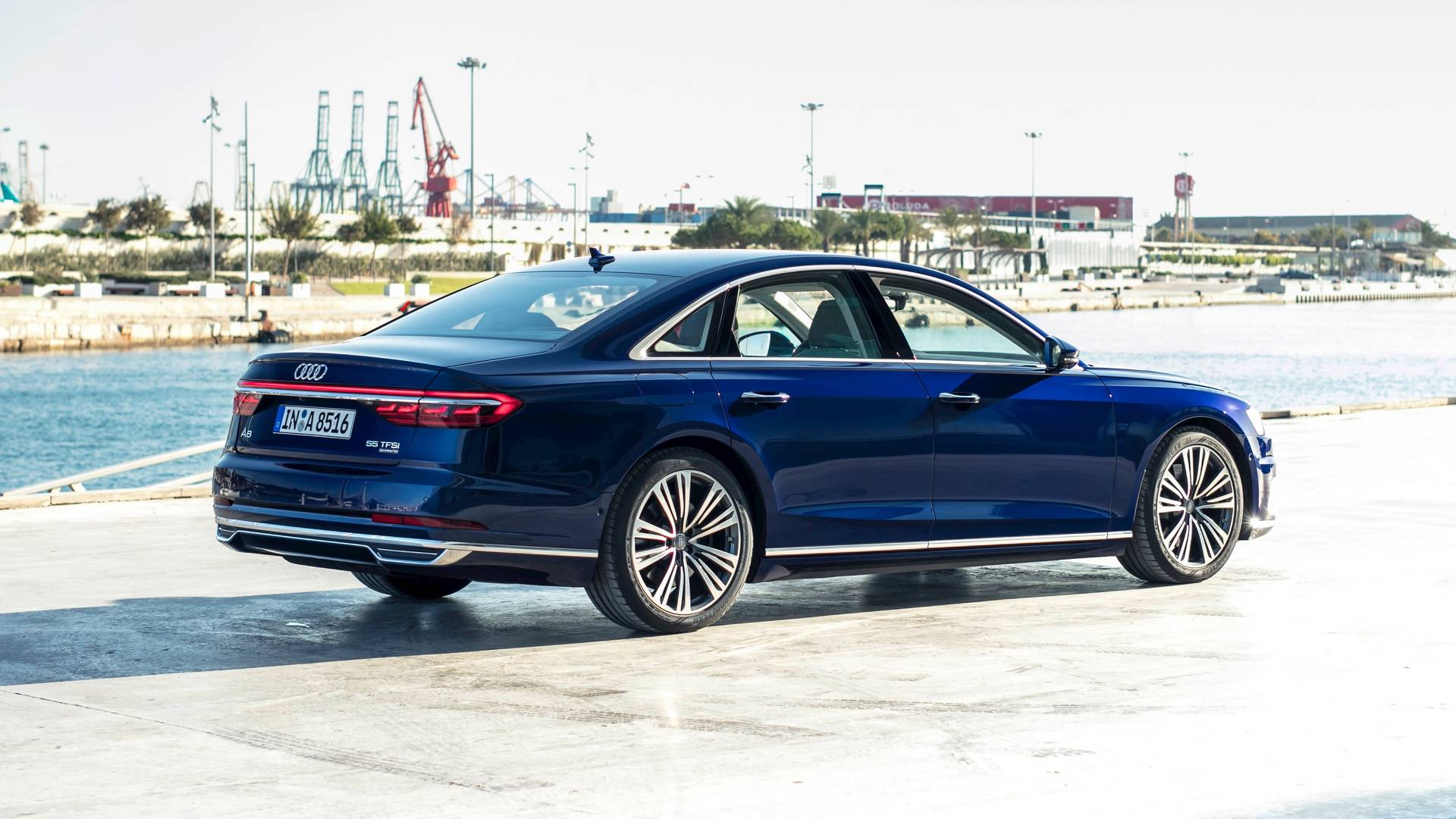 Audi A TDI First Drive Reconnaissance Into The Future - Audi a8 2018