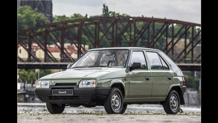 Skoda Favorit: Kantige Revolution