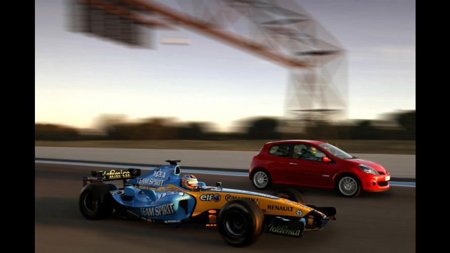 in pista con la nuova Renault Clio RS