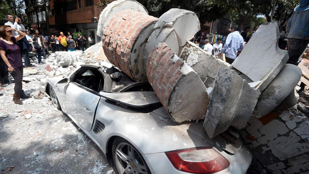 Mexikói földrengés