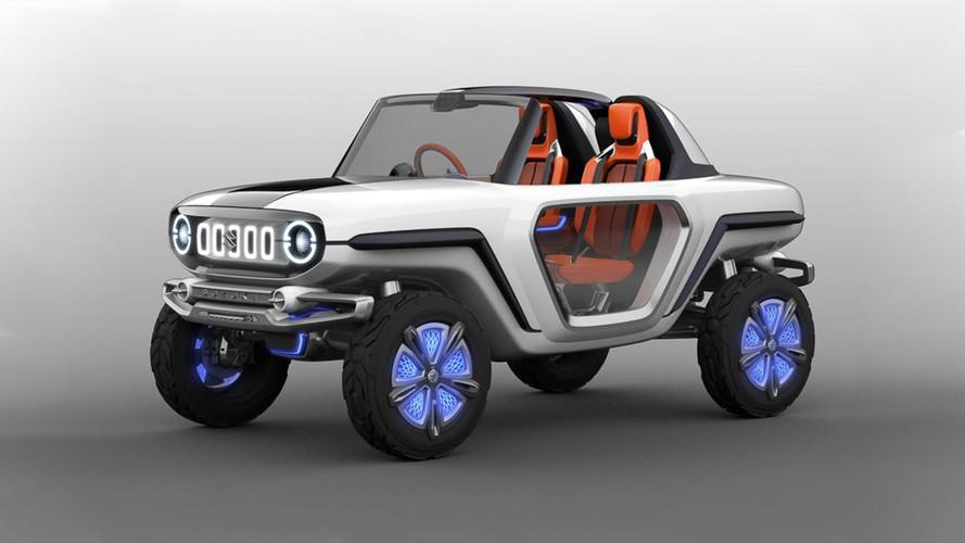 Suzuki e-Survivor Concept adianta jipinho elétrico