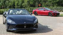 2018 Maserati GranCabrio Sport and GranTurismo MC