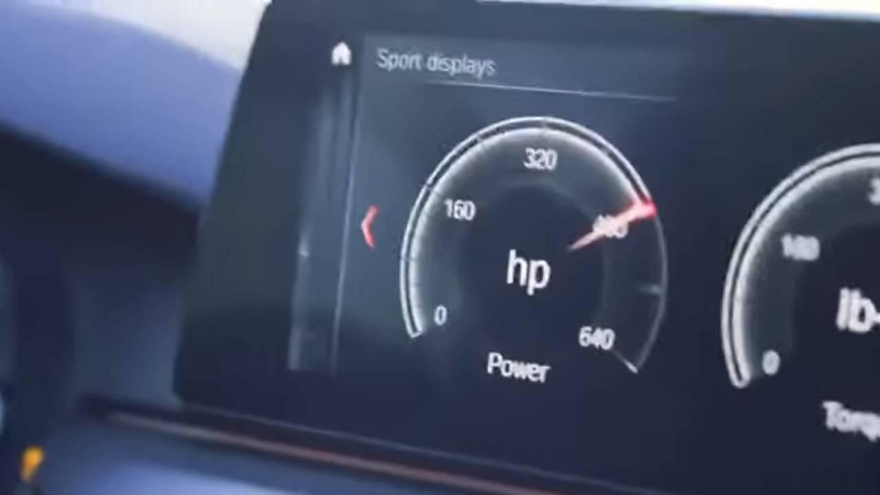 BMW M5 640 HP
