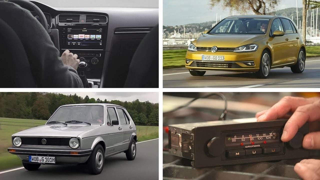 VW Golf radios