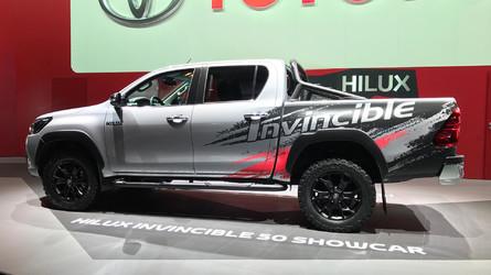 Toyota Hilux Invincible 50, para presumir de pick-up