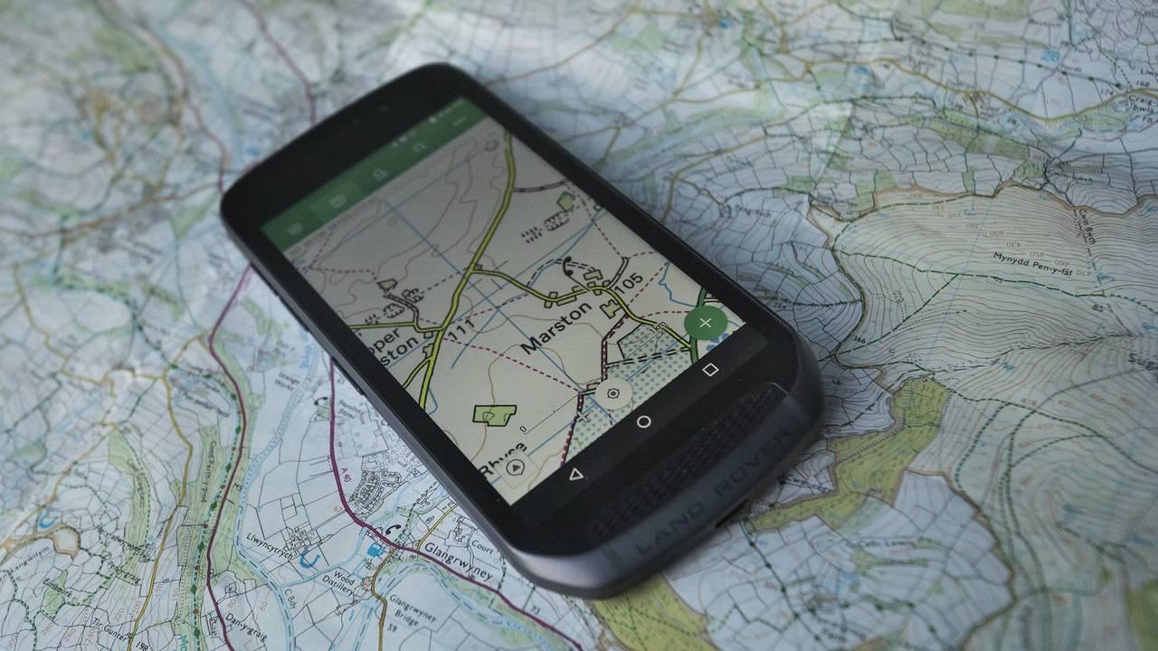 Land Rover Smartphone