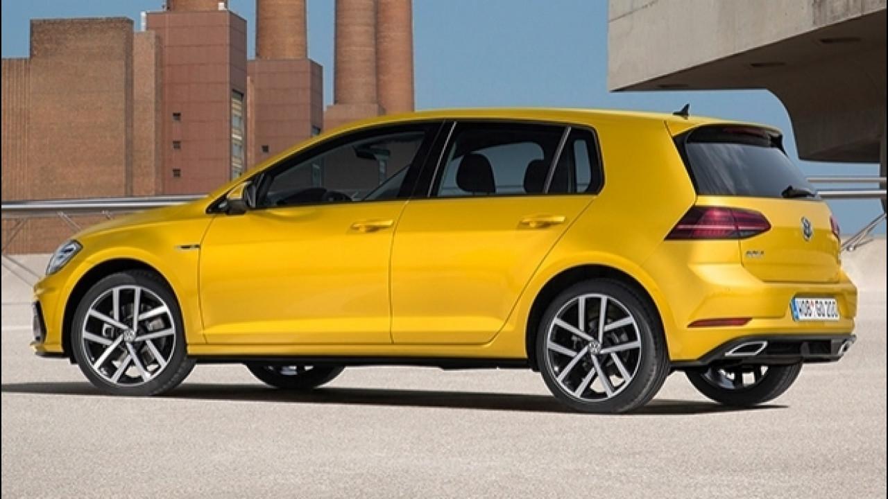 [Copertina] - Volkswagen Golf R-Line restyling, fisico atletico