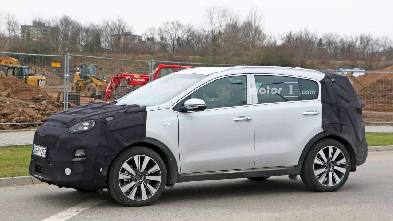 2019 Kia Sportage spy photo
