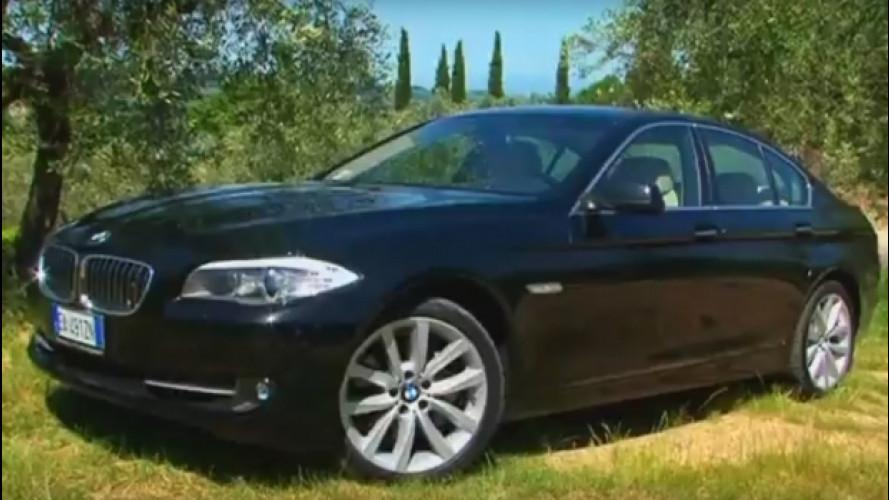 BMW 530d, affamata d'asfalto [VIDEO]