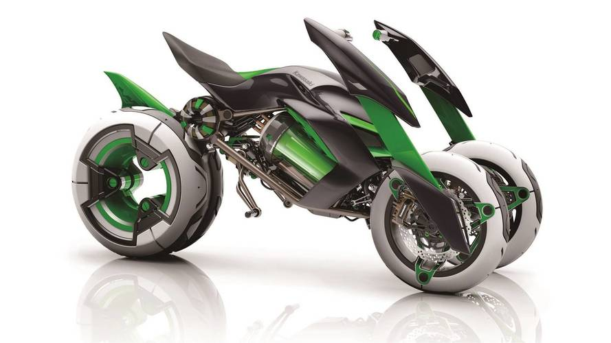 Kawasaki Teases Old Concept In New Video