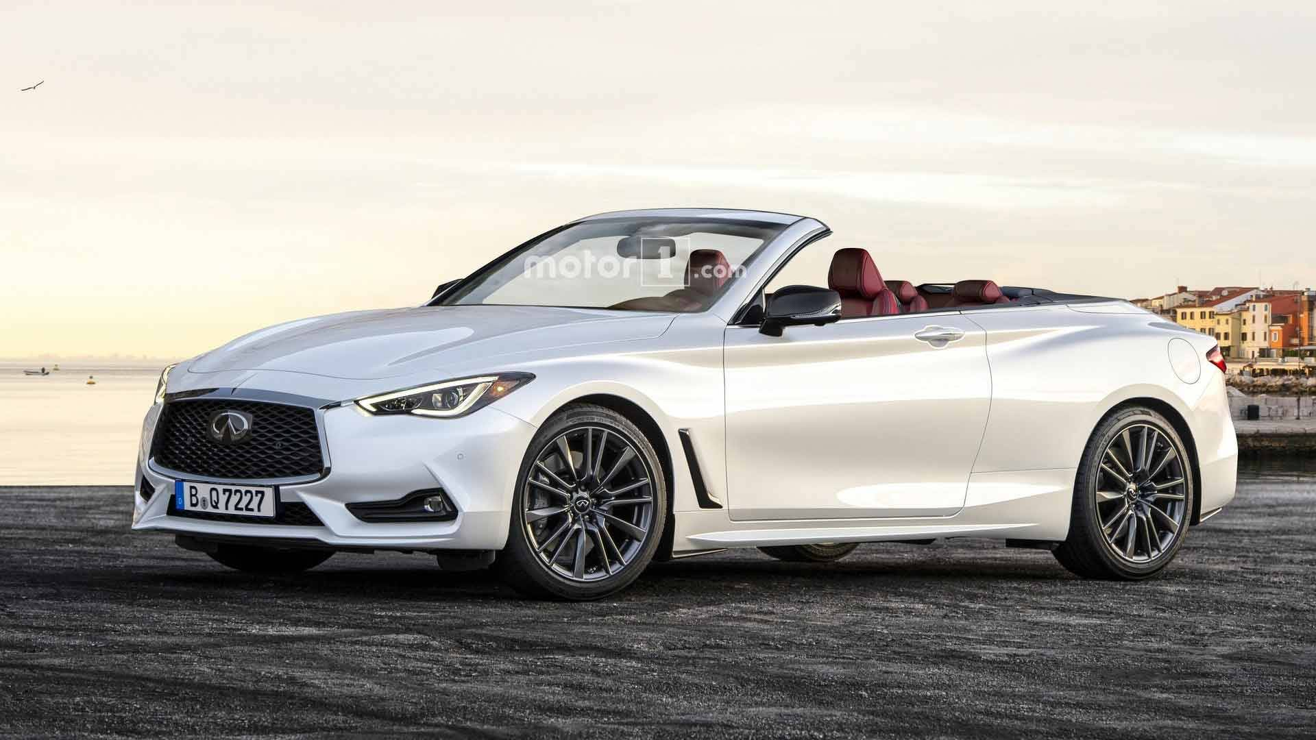 Infiniti Convertible >> Handsome Infiniti Q60 Convertible Takes Off Its Top For Rendering