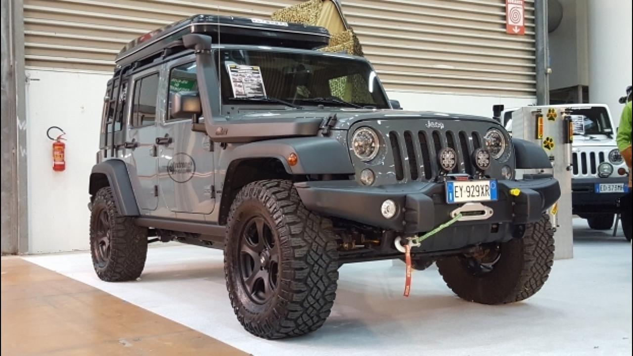 [Copertina] - Jeep Wrangler, così diventa un mostro di fuoristrada