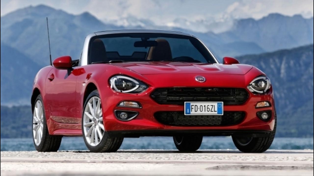 [Copertina] - La Fiat 124 Spider scala la classifica delle cabrio più vendute
