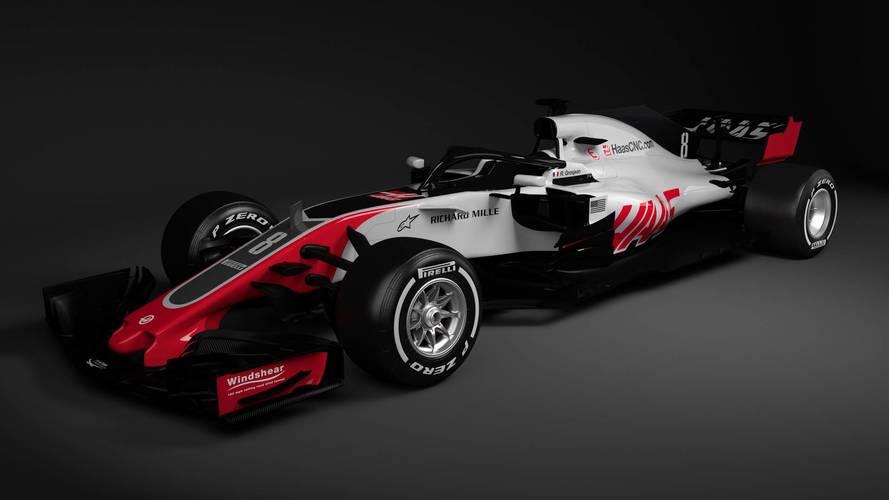 Haas presenta por sorpresa y en digital su nuevo VF-18