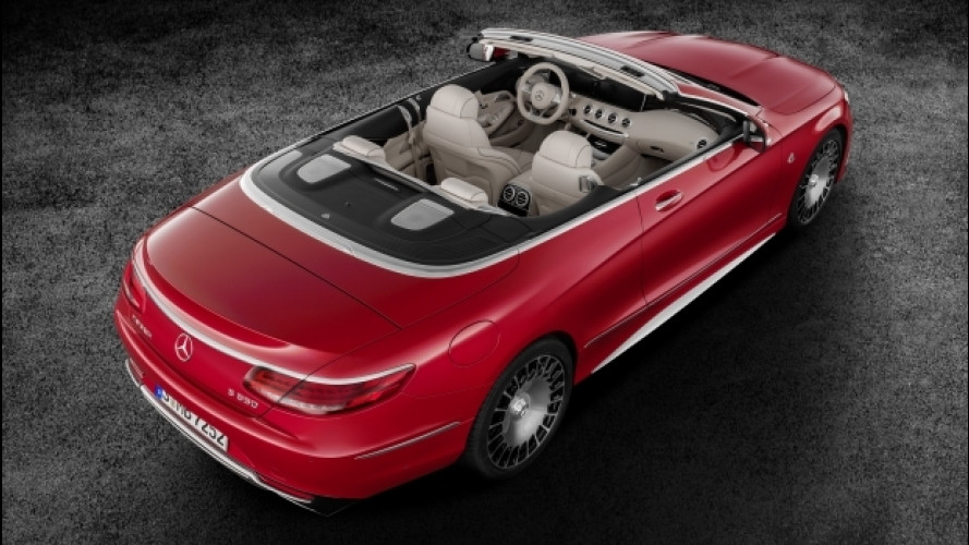 Mercedes-Maybach S 650 Cabriolet, come scoprire il lusso