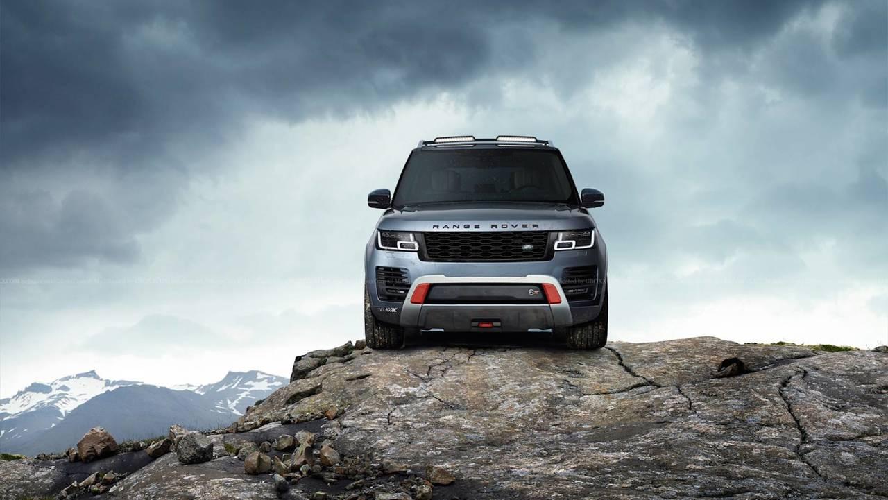 Range Rover SVX Rendering