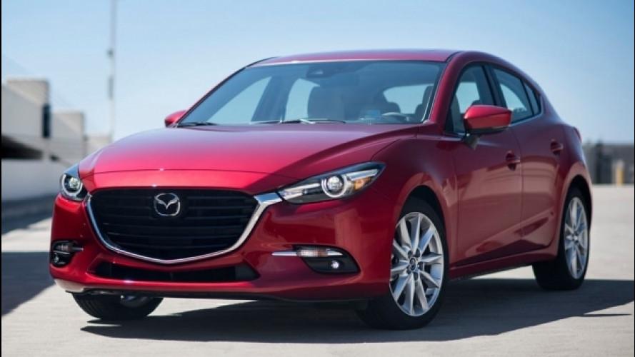 Mazda 3, restyling all'insegna della sicurezza