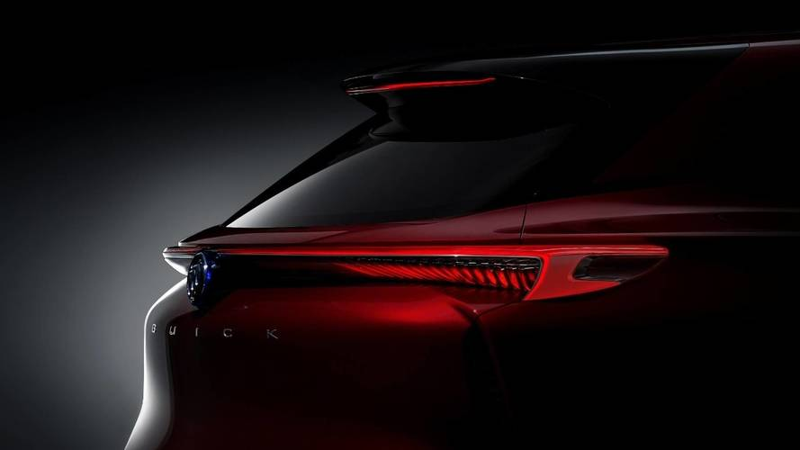 Buick Teases Enspire Pure Electric SUV Ahead Of April 17 Debut