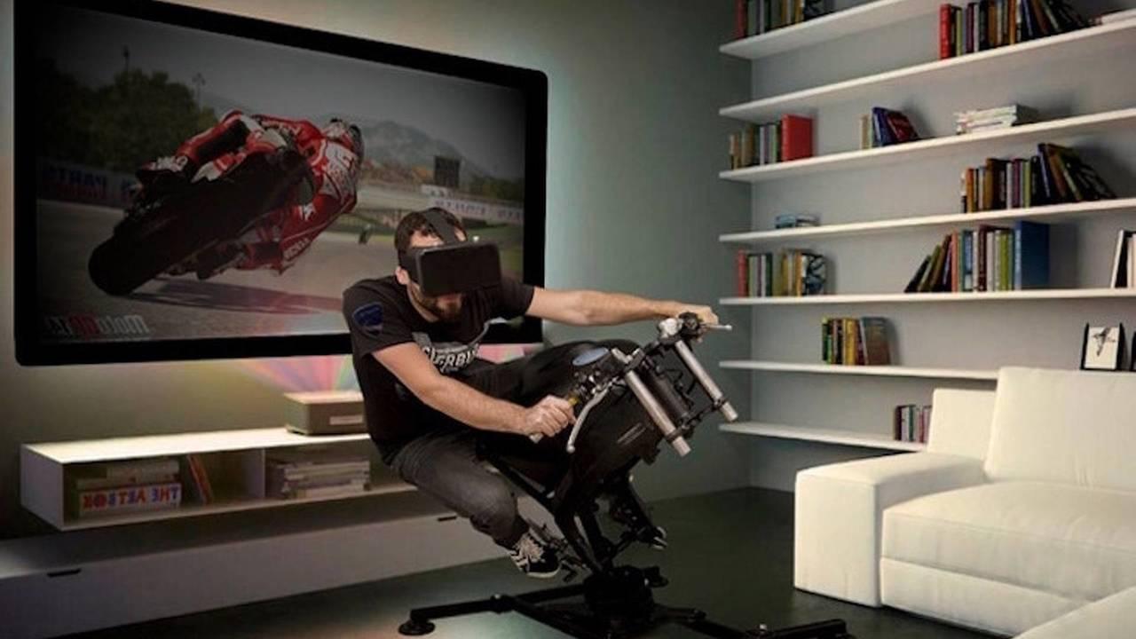 LeanGP Motosiklet Yarış Simülatörü
