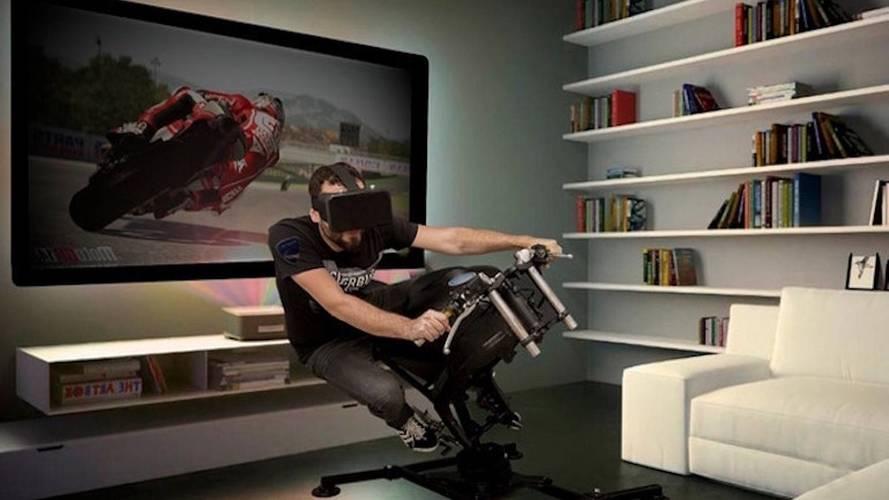 LeanGP firması oturma odanıza motosiklet simülatörü getiriyor