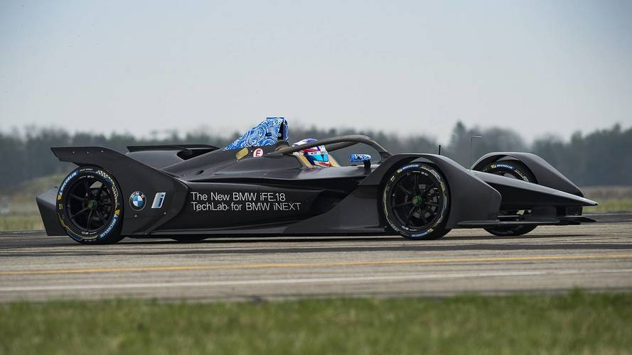 First BMW Formula E Car Completes Maiden Run
