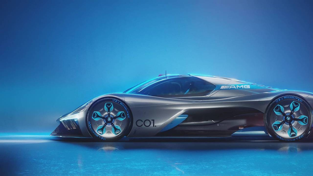 Mercedes-AMG C01 Vision Study