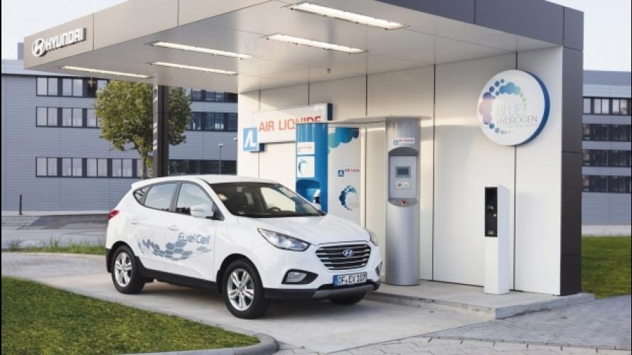 [Copertina] - È Hyundai la prima stazione pubblica a idrogeno