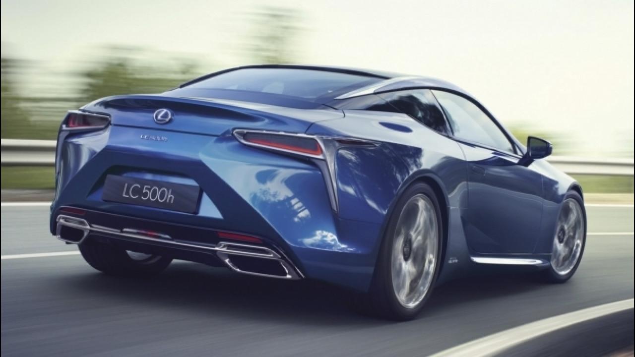 [Copertina] - Lexus LC 500 Hybrid, lo squalo giapponese