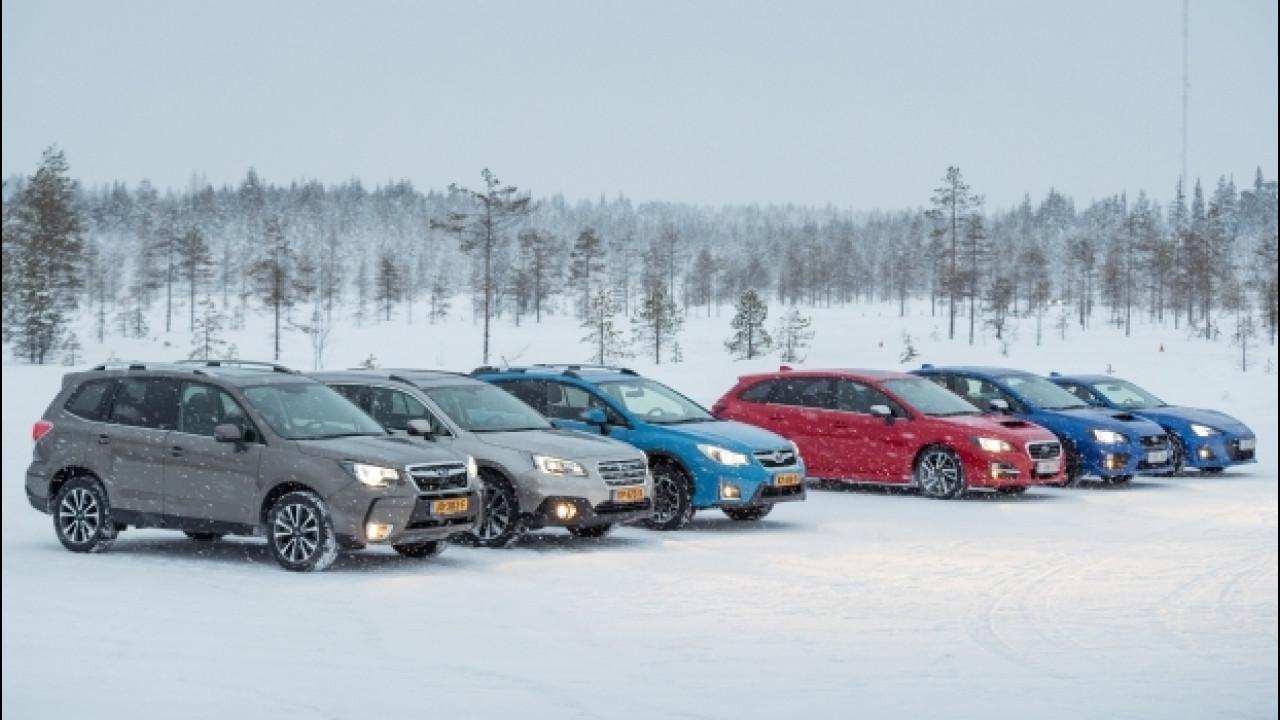 [Copertina] - Subaru, la trazione integrale a prova di neve
