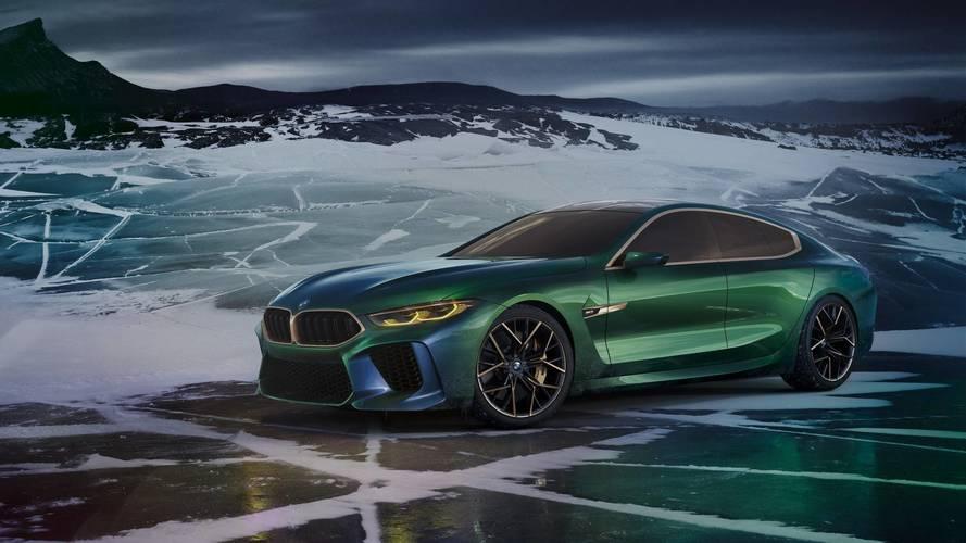 BMW Concept M8 Gran Coupé - luxusmodell új szintre emelve