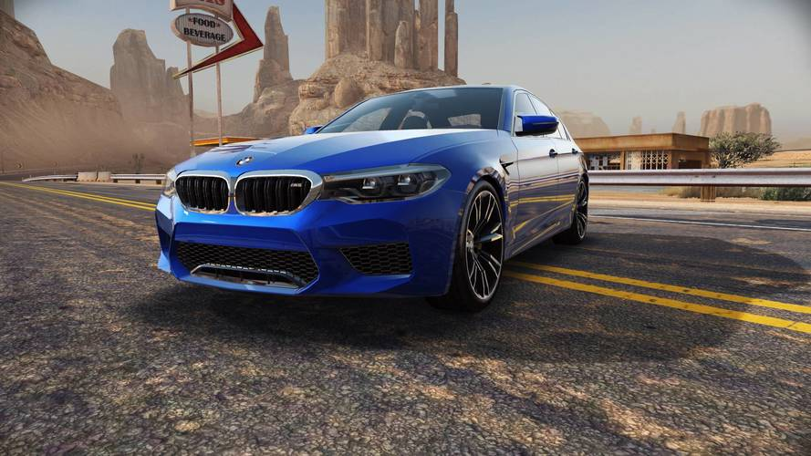 Need For Speed No Limits ile BMW M5 akıllı telefonunuzda
