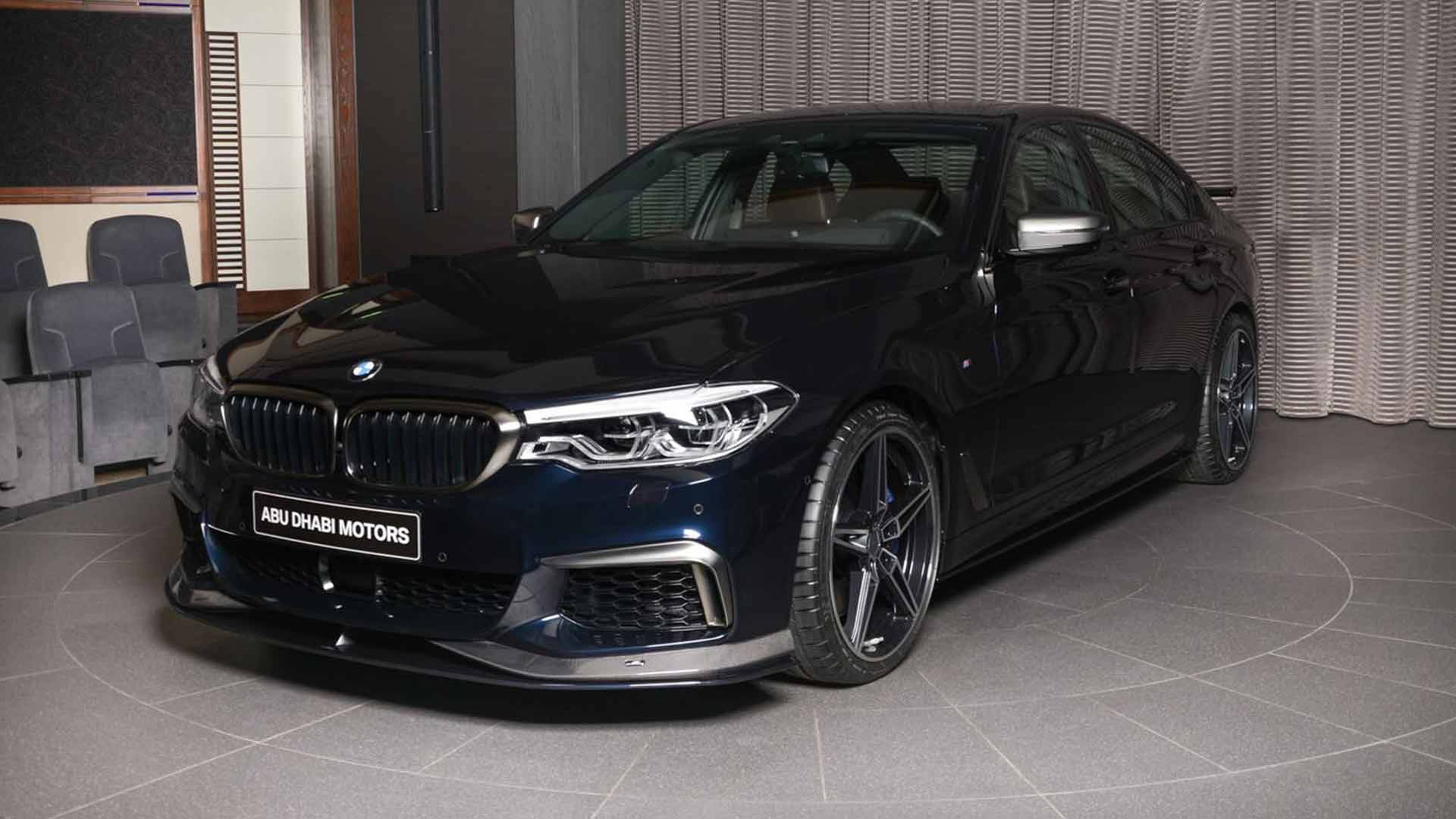 Bmw M550i With Ac Schnitzer Pack Looks More Menacing Than An M5