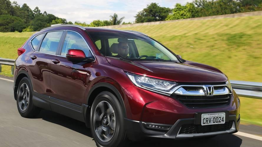 Primeiras Impressões Honda CR-V Touring 2018 - Efeito Civic