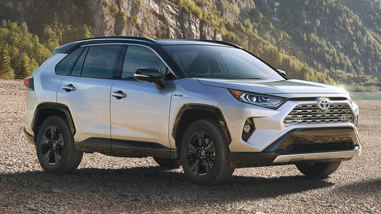 Nuova Toyota RAV4 Hybrid
