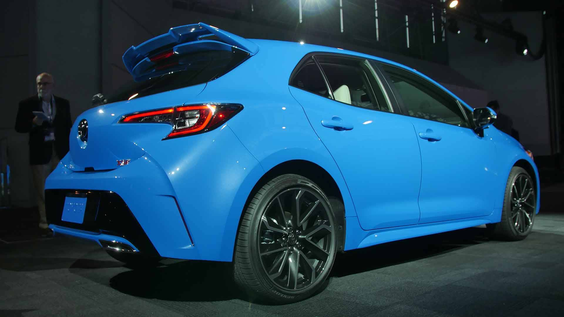 2019 Toyota Corolla Hatchback Gets Sharper Looks New Platform