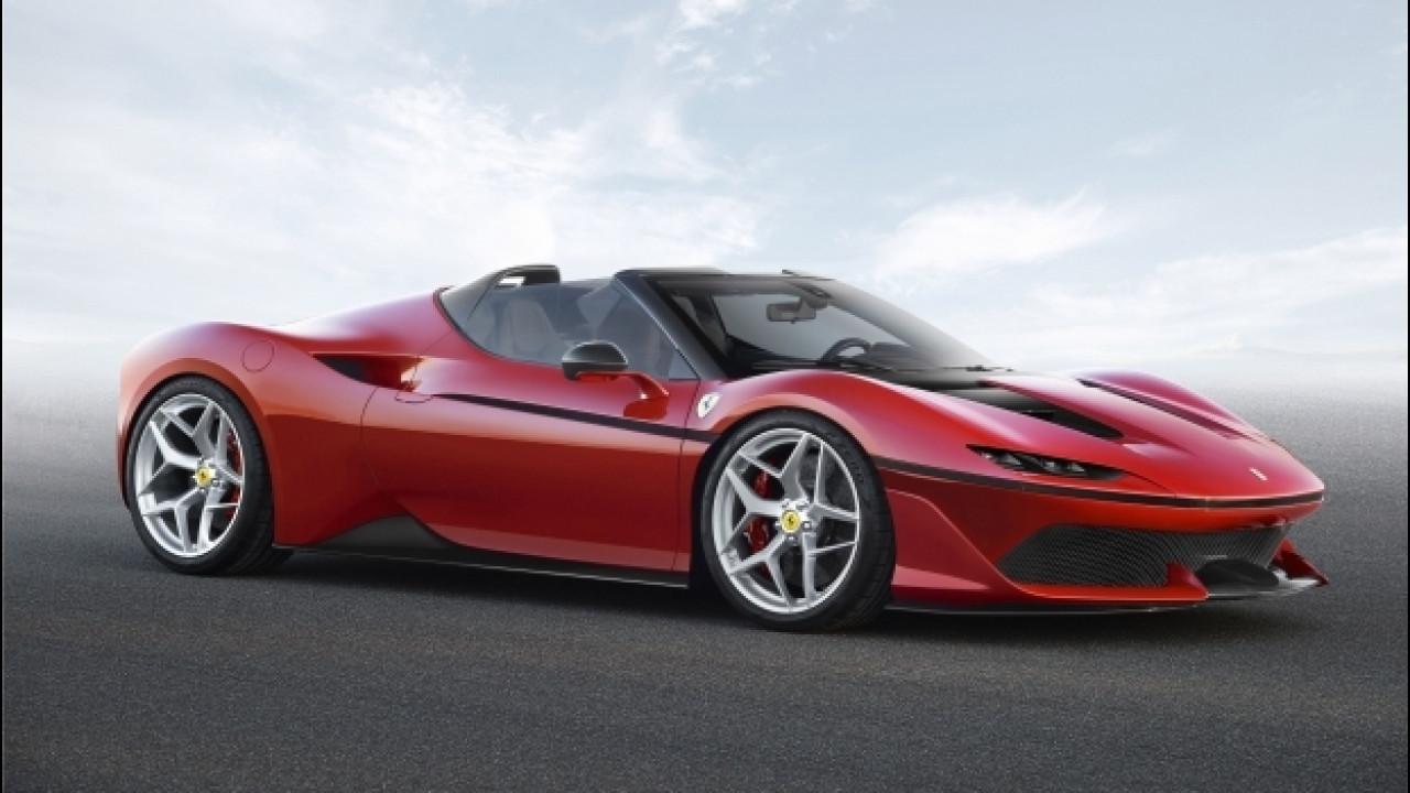 [Copertina] - Ferrari J50, roadster per pochi eletti